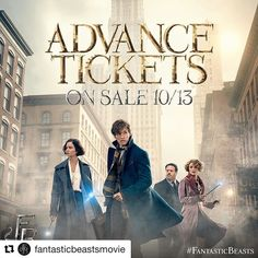 Fantastic News! Tickets for #FantasticBeasts go on sale this Thursday. Don't miss your chance to get your tickets early. #FBTickets