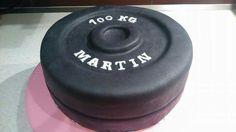 Gym cake - Fitness zavaží :)