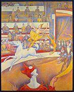 The Circus - Seurat 1891