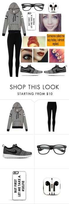 """Lazy Day #2"" by moose33 ❤ liked on Polyvore featuring Max Studio, NIKE, Zero Gravity and PhunkeeTree"