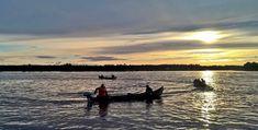 Salmon Fishing on River Tornionjoki in Midnight Sun Finland Holidays In Finland, Salmon Fishing, Midnight Sun, Online Travel, Best Fishing, Travel Agency, Boat, Tours, River
