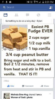 PB fudge