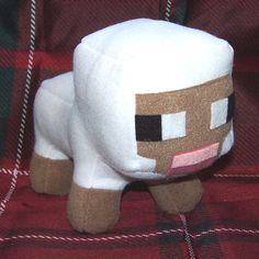 Minecraft Sheep / Lamb Plush