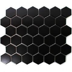 Carrelage hexagonal antidérapant 23x26.6cm ASTON HEXAGONO LUTON MULTICOLOR - 0.50m²   Carrelage ...
