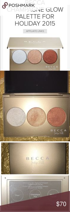 ‼️SOLD OUT! JACLYN HILL HOLIDAY PALETTE‼️ SO GORGEOUS! Brand new, I dipped a brand new brush (MUFE fan brush I'm selling actually!) into Pearl once, stashed it away bc it's so beautiful! I own CP in the individual pan, I'm REALLY trying to clean out my makeup collection! This is being sold on EBay for a MINIMUM of $75, I've done my research, pricing accordingly and fair. I only discuss pricing via the offer button, please no lowball offers. This will be packaged meticulously, will include a…