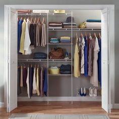 ClosetMaid 5-8 ft. Closet Organizer with Shoe Rack