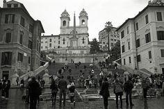Piazza di Spagna, via Flickr.