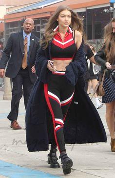 La modelo española Blanca Padilla ha sido una de las modelos elegidas por Tommy Hilfiger para presentar las colecciones Primavera 2017 de 'Hilfiger Collection' y 'TommyXGigi' en TOMMYLAND: el festival de moda de la Costa Oeste definitivo, con música, arte y creatividad inspirados en California - Gigi Hadid