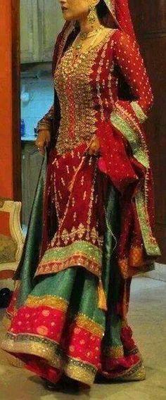 Pakistani Bridal Dress ♥