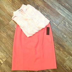 Pink Pencil Skirt, NWT Worthington Pink Pencil Skirt, new with tags! Worthington Skirts Pencil