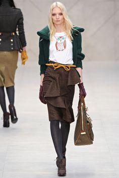 Burberry Prorsum Autumn/Winter 2012 Ready-To-Wear
