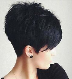 Long Pixie Cut and color 2018