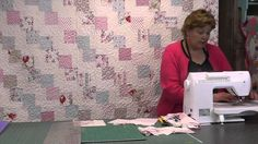 Falling Charms Quilt Tutorial - Quilting With Charm Packs, via YouTube.