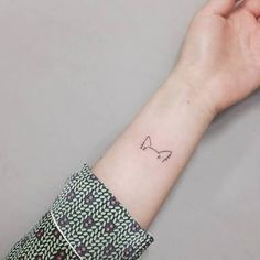 minimalist dog tattoo - Google Search
