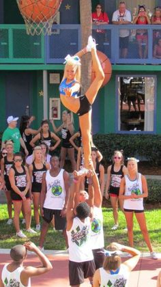 serving you from all star resorts :) Cheer Stunts, Cheer Dance, Cheerleading, Cheer Athletics Cheetahs, Cheer Quotes, All Star Cheer, Cheer Pictures, Cheer Bows, Dream Team