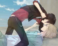 """""""I don't know whether to punch you, or kiss you."""" Shizuo x Izaya. Durarara!!"""