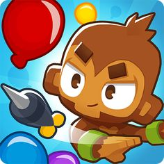Bloons TD Smash Hit Tower Defense Game - Android strategy game APK by ninja kiwi Tower Defense, Ninja, Ipod Touch, Kiwi, Ios Iphone, Hero Crafts, Defense Games, Game Of The Day, Monkey 3