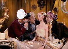 Frederick Ashton, Robert Helpmann, Moira Shearer and Leonid Massine. Tales of Hoffman. 1951