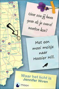 Hoosier Hill, met 383 meter het hoogste punt in de staat Indiana, is een belangrijke plek voor Violet en Finch.