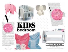 """Kids Bedroom"" by isabelle96-1 on Polyvore featuring interior, interiors, interior design, home, home decor, interior decorating, South Shore, Fatboy, Worlds Away and Epoque"