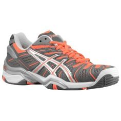 ASICS® Gel Resolution 4 - Women's - Titanium/Silver/Electric Melon
