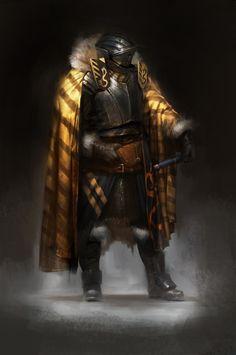 Knight 2, Pierre Raveneau on ArtStation at https://www.artstation.com/artwork/ZXzr0