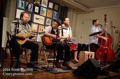 Photos – Buffalo Wabs and The Price Hill Hustle, 12/7/14, Leo's Coffeehouse, Cincinnati, OH