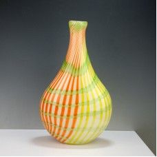 Size: 9TX22X37cm Material: Murano glass Description: All of our glass crafts are true hand blown. They are different from the other glass crafts which are made by machine. Our glass crafts are handicraft in its true sense. Our products are international certified, they are controled in the standard quality field. Now we have some stocks to sell,and the real products will look exactly the same as photos. $149.00