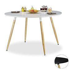 - Home Decoration for Your Inspirations Modern, Table, Furniture, Retro Design, Home Decor, Round Dinning Table, Round Table Top, Coaster, Monochrome