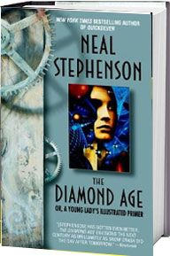 """""""Set in twenty-first century Shanghai, it is the story of what happens when a state-of-the-art interactive device falls into the hands of a street urchin named Nell."""""""