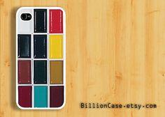Watercolor Set  -  iPhone 5 4 / 4s Galaxy Case Hard Plastic Case Rubber Case. $15.99, via Etsy.