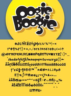 This jaunty and jazzy display face originally inspired by Robert Crumb who in turn was inspired by typefaces from the and – 254 glyphs, 4 weights. Robert Crumb, Oogie Boogie, Glyphs, Weights, Fonts, Cool Stuff, Designer Fonts, Types Of Font Styles, Script Fonts