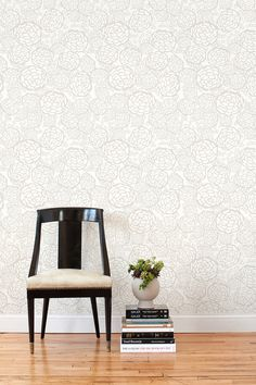 Oh I want this (removable!) wallpaper so badly for my entryway. To do or not to do?