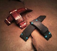 Nobuk leather