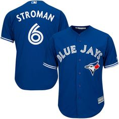 Marcus Stroman Toronto Blue Jays Majestic Youth Alternate Official Cool Base Player Jersey - Royal - $54.99