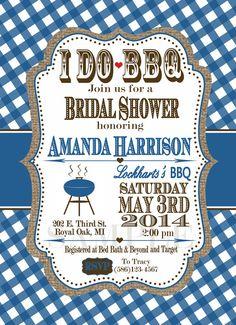 I DO BBQ themed Bridal / Wedding / Baby Shower / by KendyllRaes