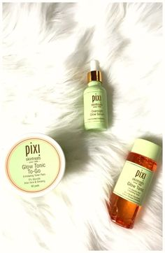 Pixi Products You Need To Try Now | The Perfect Glowing Skin Duo: Glow Tonic Toner and Overnight Glow Serum