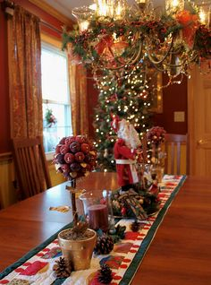 Winter Is A Wonderland Dining Room Decorated By Shutterfool On Flickr Christmas Table CenterpiecesChristmas