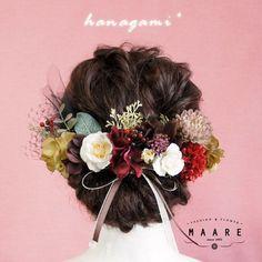 Polymer Clay Flowers, Polymer Clay Earrings, Wedding Hair Pins, Bridal Hair, Japanese Hairstyles, Ivory Wedding, Handmade Polymer Clay, Flower Pendant, Handmade Flowers