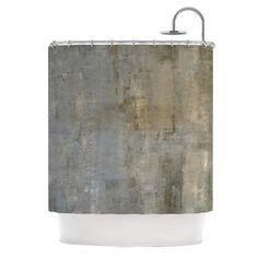 "CarolLynn Tice ""Overlooked"" Brown Gray Shower Curtain - KESS InHouse"
