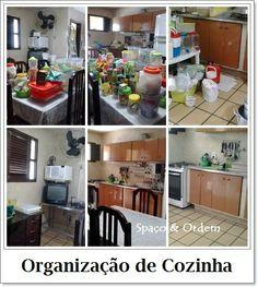 Organização de cozinha...Spaço & Ordem em ação