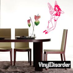 Fairy Wall Decal - Vinyl Decal - Car Decal - CF127
