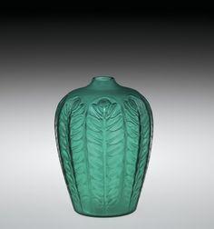 Tournai Vase by Rene #Lalique, designed in 1924