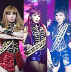 Which CRUSH outfit do you think @haroobommi pull it off the most? Red blue or black?  by bommiofficial