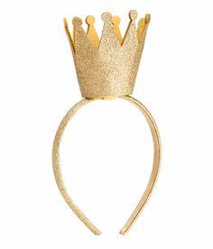 crown headband.
