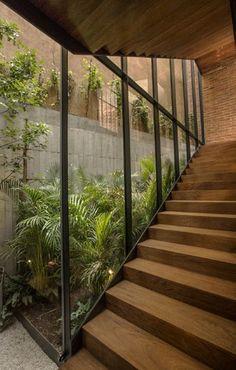 v taller - escaleras - madera - arquitectura
