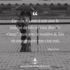 Amour. Marc Lévy