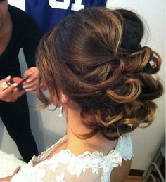 elegant wedding hair - Google Search