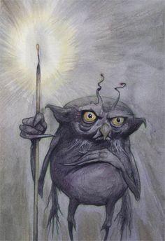 Fantasy Artworks By Brian Froud 72 Woodland Creatures, Magical Creatures, Fantasy Creatures, Brian Froud, Troll, Kobold, The Dark Crystal, Mythological Creatures, Fairy Art