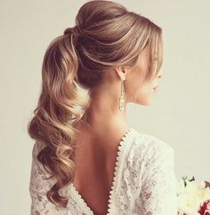 glam #holiday hair idea